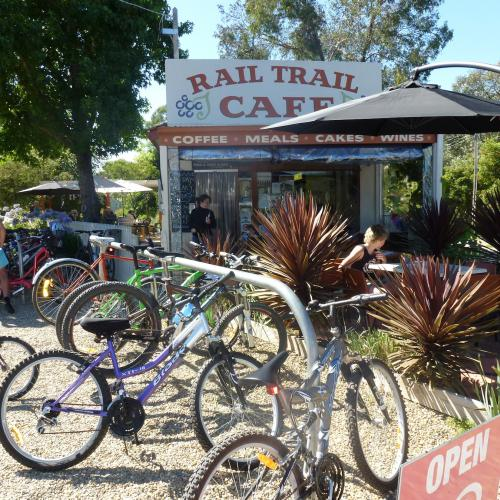 Ride to the Rail Trail Cafe